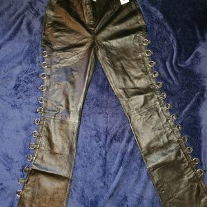 Wilsons Leather Riding Pants, Rave, Punk